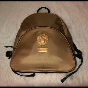 NWOT Versace Parfums Gold Spec. Edition Backpack